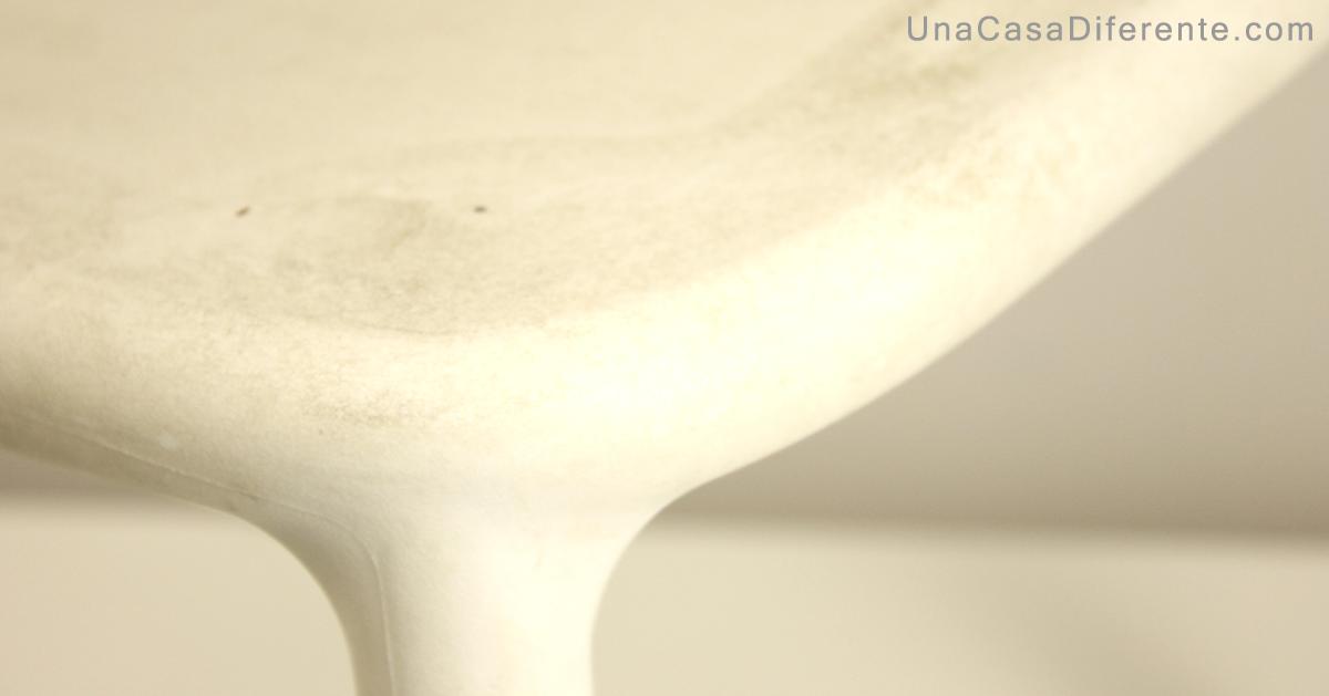 Como pintar sillas de plástico con manchas